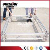 Justierbare Höhe bauen bewegliches Aluminiumstadium zusammen