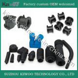 Bramidos del caucho de silicón de la fabricación de China con el borde del acero inoxidable