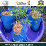 jardim Anti-UV Planting Bag de Woven do PE 30-60L