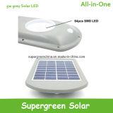 운동 측정기를 가진 옥외 태양 LED 안전 빛