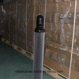 cilindros de oxígeno de acero 6.7L/10L con los casquillos del cilindro