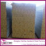 壁のためのカスタマイズされた耐火性の鋼鉄岩綿サンドイッチパネル