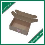 Boîte ondulée en carton ondulé personnalisée Boite carrée ondulée sans colle