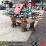 Passeio original do fabricante no dinossauro de Simulational Animatronic