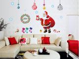 Autoadesivi della parete di natale, decorazione della stanza di natale