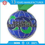 Medalha macia do metal 3D do esmalte do projeto do cliente