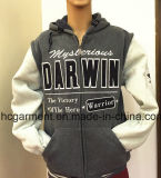 Sports Wear College Wind Fleece Baseball Uniform Hoodie pour Man/Women