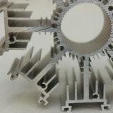 Radiateur personnalisé d'aluminium d'extrusion de forme