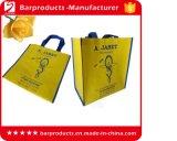 Kundenspezifische mehrfachverwendbare Nylontote-Einkaufstasche mit Polyester-Griff