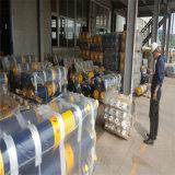 Constructeur télescopique à simple effet de cylindre hydraulique de cylindre