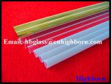 Fornecedor translúcido da tubulação do vidro de quartzo do silicone da pureza elevada