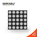 고성능 RGBW 5X5 LED 매트릭스 선잠기 곁눈 가리개 빛