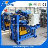 Bloco oco concreto Semi automático da planta da empresa de pequeno porte que faz a máquina
