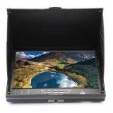 Eachine LCD5802s 5.8g 32CH 7 Zoll-Diversityempfänger-Monitor mit Aufbauen-in Empfänger-Batterie