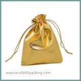 De gouden Zilveren MetaalZak van de Gift van het Huwelijk van het Satijn