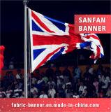 英本国のフラグ、昇進の国の国旗