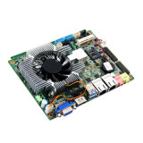 Cartão-matriz do server da indústria da placa do cliente fino I3 com sustentação do ventilador