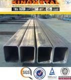 Tubo 75X75 millimetro del quadrato galvanizzato S355j2h del acciaio al carbonio dell'en 10210
