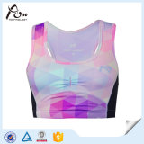 Sublimation Printing Wholesale Ladies Spandex Yoga Bra Sports Bra