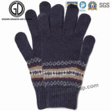 Mens-Winter-/Herbst-Formwarme Knit-Handschuhe