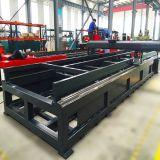 炭素鋼のステンレス鋼のためのCNCのファイバーレーザーの打抜き機
