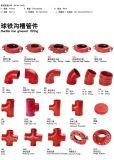 ajustage de précision de bride de té utilisé par système de lutte contre l'incendie de 304/316 incendies