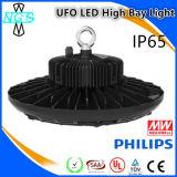 Luz ligera industrial de la bahía del UFO LED del LED alta