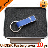 Bastone istantaneo su ordinazione del USB del metallo di cuoio
