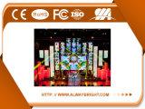 Pantalla de visualización a todo color de interior de LED del alquiler P3.91 del alto rendimiento de Abt