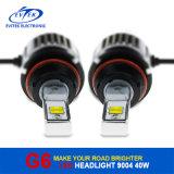Bulbo 2016 principal do farol do diodo emissor de luz do carro da luz 40W 4500lm 9004/9007 do diodo emissor de luz dos produtos novos
