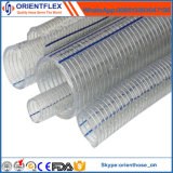 China-Hersteller transparenter Belüftung-Stahldraht-Schlauch