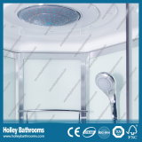 Hot Selling Computer Display Shower Cubicle avec étagère en verre (SR213B)