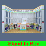 Carrinho de indicador interior da exposição da forma para a cabine da exposição da loja da roupa