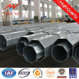 Puder Coating 12m Galvanized Pole Fasctory