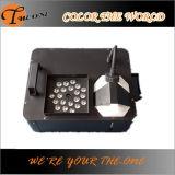 Il LED verso l'alto espelle la macchina del fumo