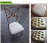 판매를 위한 Chiavari 유행 쌓을수 있는 Tiffany에 의하여 이용되는 의자