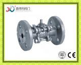 Valvola a sfera della flangia Pn40 della fabbrica 3PC della Cina di BACCANO 3202
