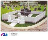 Monumento cinese della famiglia della scultura del granito