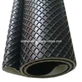 Grande Quadrel bande de conveyeur de noir de configuration de PVC pour le procédé du bois
