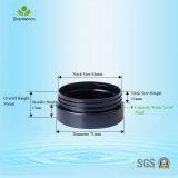gesichts-Sahne-kosmetische Gläser des Haustier-50ml Plastikfür Toilettenartikel