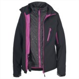 2015 Frauen 3 in 1 Outdoor Waterproof Softshell Jacket