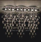Luz de teto moderna da decoração de cristal de Phine K9 grande