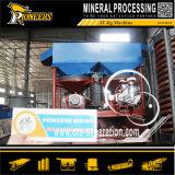 Fabbrica di vibrazione di lavaggio del separatore del Jigger dell'oro della strumentazione di arricchimento alluvionale nel minerale metallifero