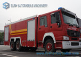 HOWO 6X4 15000L Water и Foam Tank Fire Fighting Truck