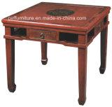 アジアの東洋の中国の古典的な木の催し物のMahjong表