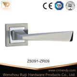 Ручка рукоятки двери Zamak ультрамодного просто сплава цинка деревянная (Z6091-ZR09)