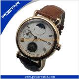 남자의 호화스러운 시계 자동적인 기계적인 시계