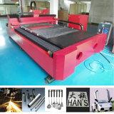 Faser-Laser-Ausschnitt-Maschine des Metall1000w