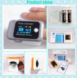Oxymètre d'extrémité de doigt de soins de santé - oxymètre de pouls d'étalage d'OLED