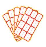 Sticker van het Etiket van de Prijs van de Plank van de supermarkt de Lege